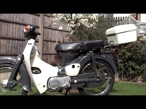 honda c90 - 1977 motorcycle - funky moped - youtube