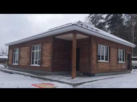 Дом из СИП (SIP) панелей. За 5 часов. Time lapse. Ecottage.