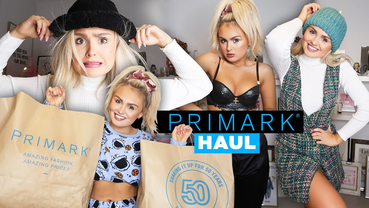 [VIDEO] - LAST MINUTE PRIMARK CHRISTMAS HAUL / TRY ON CLOTHING HAUL 2019 2