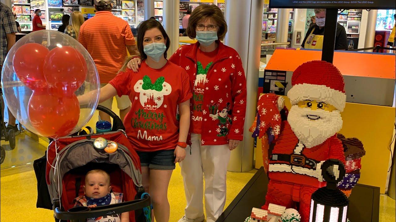 Christmas Disney Trip 2020 Part 2   Disney During the Pandemic   Babies First Trip to Disney