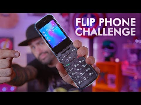 2019 Flip Phone Challenge... For One Week!