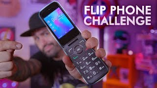I Switched To A 2019 Flip Phone... For One Week!