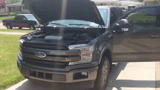 Cool features under the hood of a 2018 EcoBoost F150