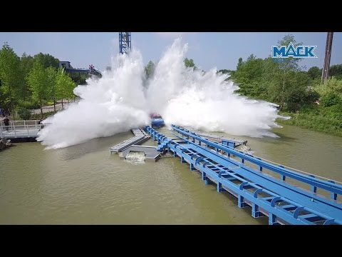 Pulsar at Walibi Belgium onride POV and offride promotional