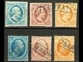 The first 101 stamps issued in the Netherlands