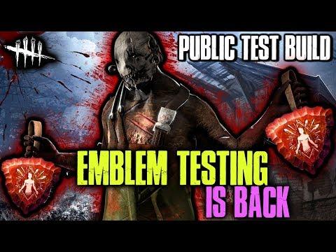 EMBLEM TESTING IS BACK! [#152] Dead by Daylight PTB with HybridPanda