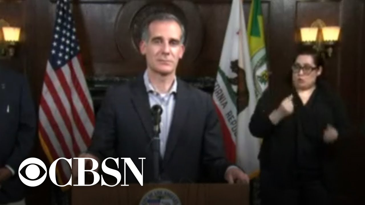 Mayor Eric Garcetti announces curfew for Los Angeles after ...