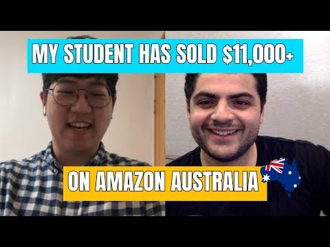 Interview With My Student Elbass Who Has Sold $11,000+ On Amazon Australia