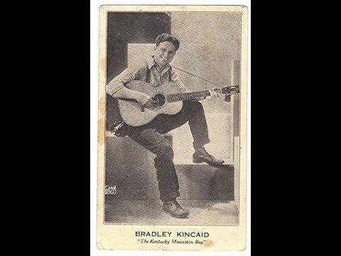 Bradley Kincaid - After The Ball (1929).