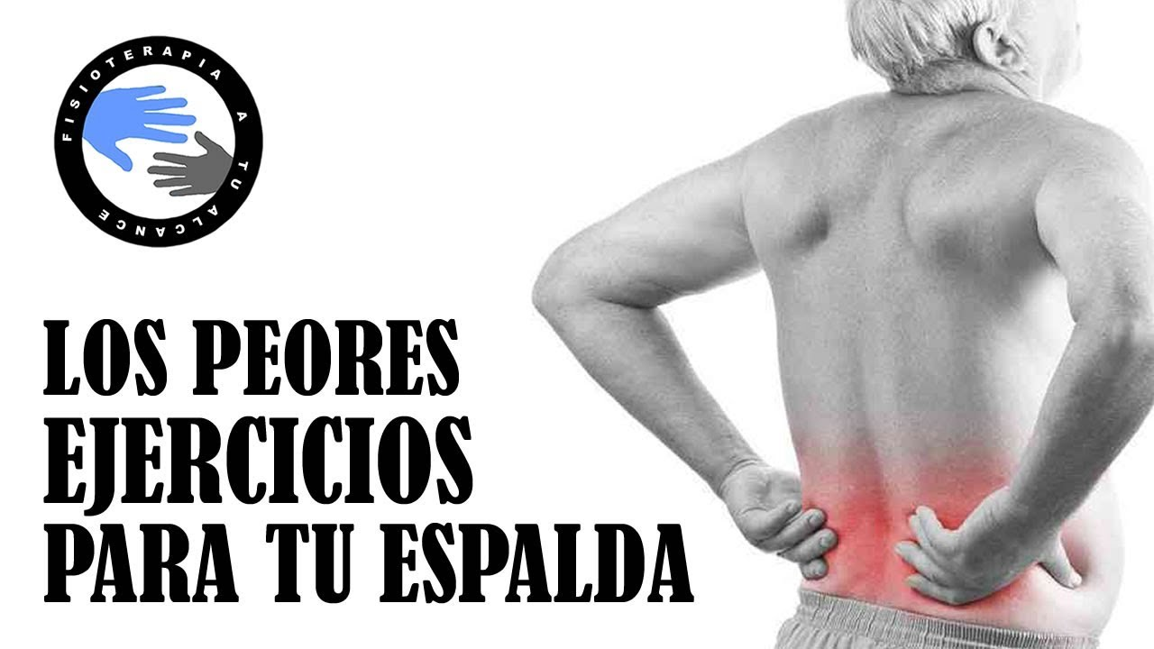 ejercicios contraindicados para hernia lumbar