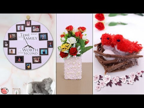 10 Mind Blowing Room Decor Idea  – DIY Projects !!!