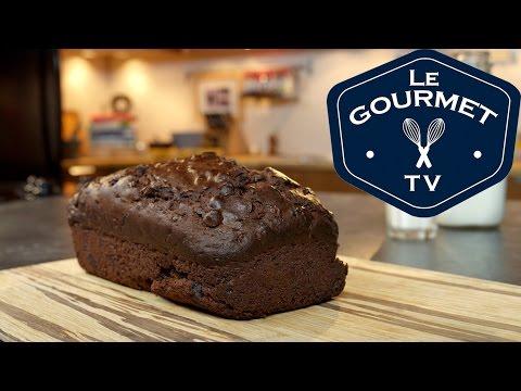 Double Chocolate Zucchini Bread Recipe - LeGourmetTV