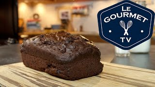Double Chocolate Zucchini Bread Recipe - Legourmettv