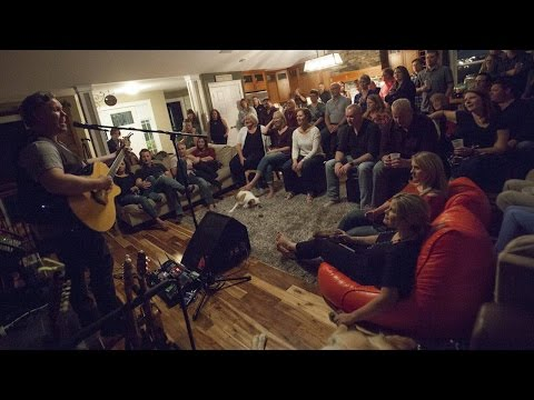 Host says house concerts are an 'intimate' venue for live music