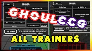 All Latest CCG & Ghoul Trainers | Roblox Ro-Ghoul [ALPHA]
