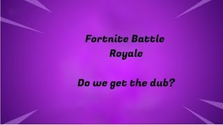 Fortnite Battle Royale! Est-ce qu'on a le W !