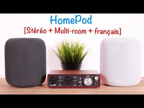 HomePod : on a testé la stéréo, le multi-room et le français !
