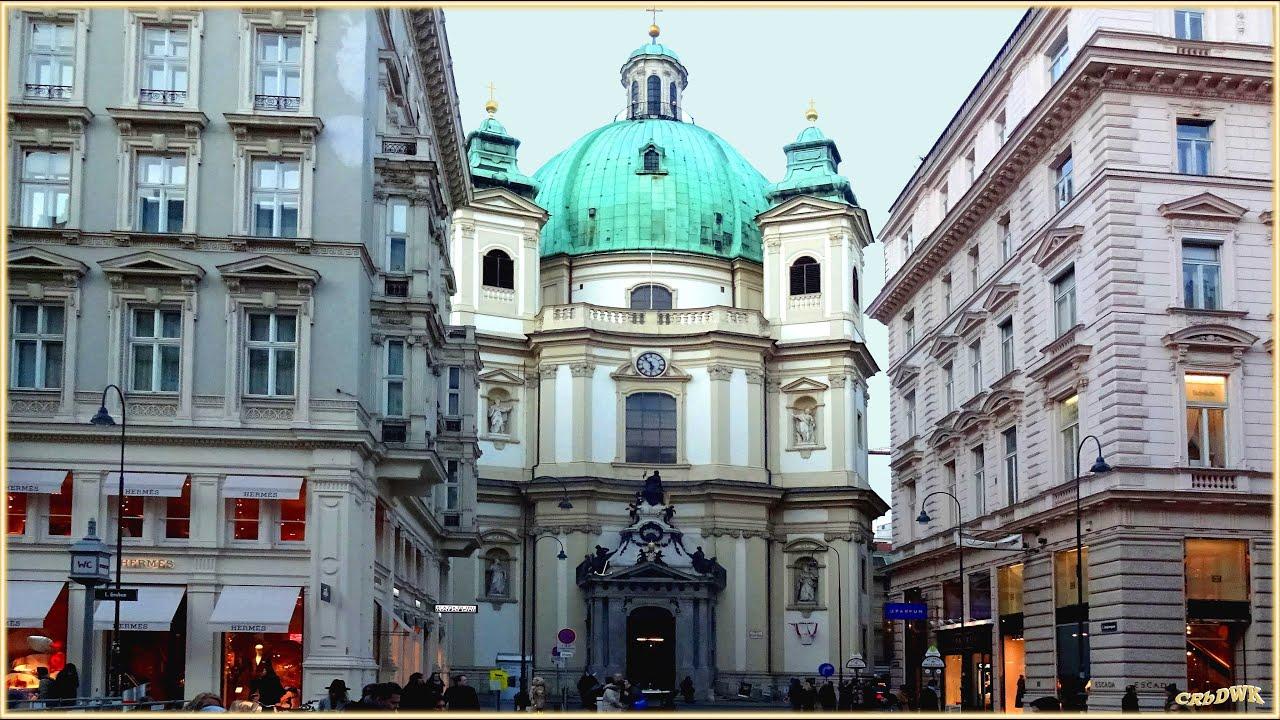VIENNA - WIEN, Historisches Zentrum;  Ostern, Peterskirche