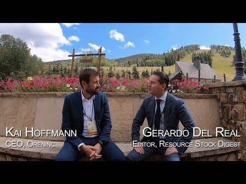 RSD at Beaver Creek Interview Series: Oreninc CEO Kai Hoffmann #PreciousMetalsSummit