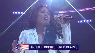 Jules Aurora - LA Lakers National Anthem LIVE @ The Staples Center