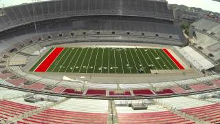 Ohio Stadium Turf Installation Time Lapse