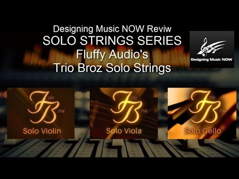 ORCHESTRAL REVIEW SERIES:  Fluffy Audio's Trio Broz - Overview