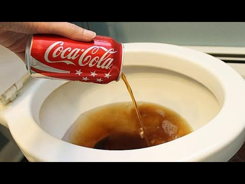Versate Coca Cola Nel Water Il Risultato Vi Sorprenderà Youtube