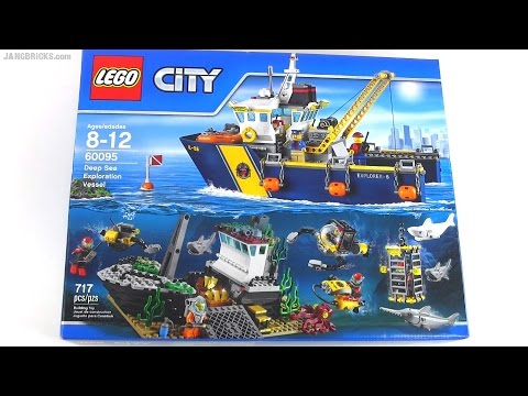 Built in 60 seconds: LEGO City Deep Sea Exploration Vessel 60095