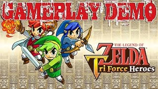 Vídeo The Legend of Zelda: Tri Force Heroes