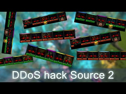 DDoS disconnection hack Source 2 Dota 2
