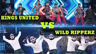 Kings United vs Wild Ripperz Again | Dance Champions | Star Plus | Kings United | Battle Round