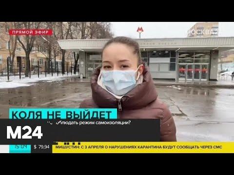 Мишустин поручил Собянину обеспечить соблюдение карантина через операторов связи - Москва 24