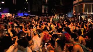 佔領銅鑼灣 半夜萬人唱 海闊天空 9 28凌晨三點