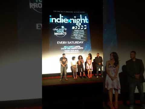 Indie Night Film Festival with the cast and crew of The Chronicles of Jessica Wu