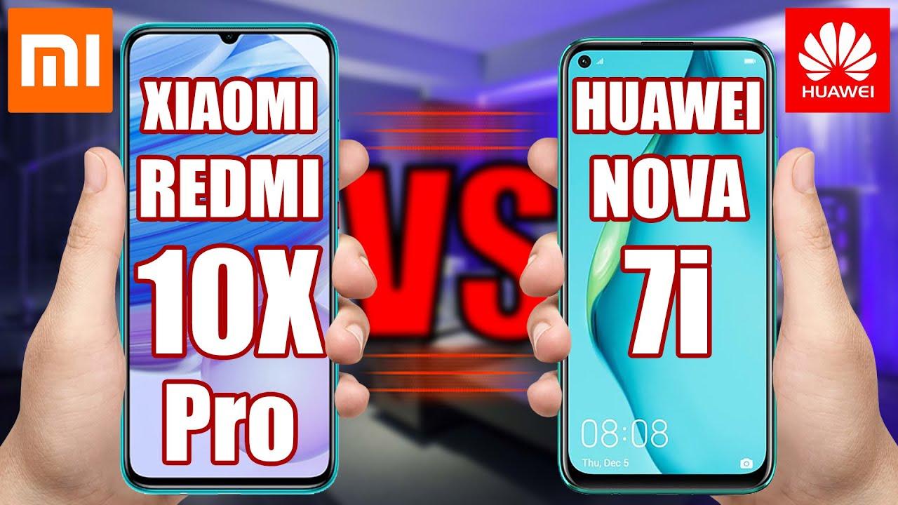 Xiaomi Redmi 10X Pro vs Huawei nova 7i. Find out the Best Phone!