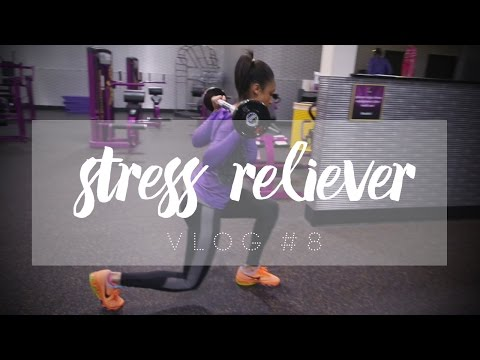 VLOG #8   The Gym is my Stress Reliever!