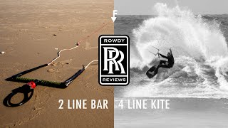 Rowdy Reviews - 2-line to 4-line Conversion Bar.
