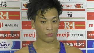 2019年明治杯全日本選抜選手権 インタビュー  GR60 ota