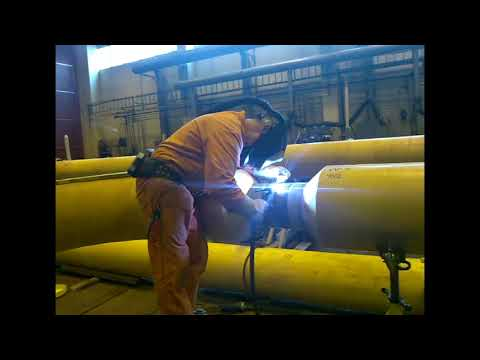 SUBSEA SUPER DUPLEX PIPELINE TIG WELDING IN NORWAY   SPAWANIE TIG RUR Z SUPER DUPLEKSU