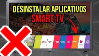 Como DESINSTALAR APLICATIVOS da SMART TV   LG webOS