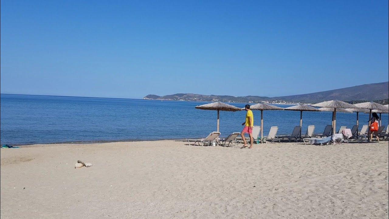 Thassos Kamari Beach Island Greece Sikostudios