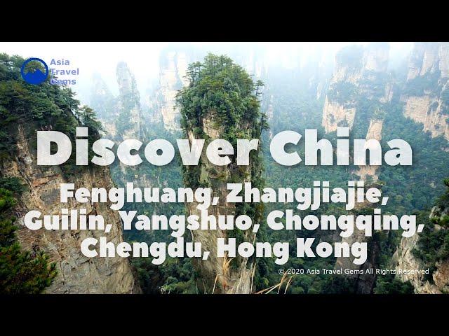 Discover China - Fenghuang, Zhangjiajie, Guilin, Yangshuo, Chongqing, Chengdu, Hong Kong