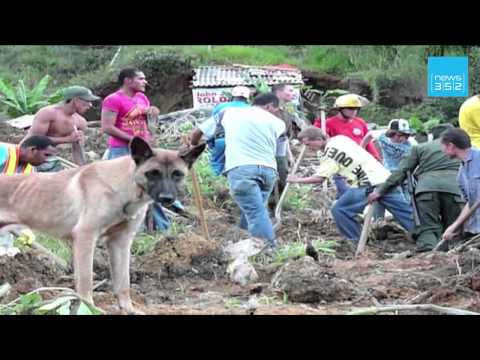 Landslide buries up to 200 in Colombia: Red Cross