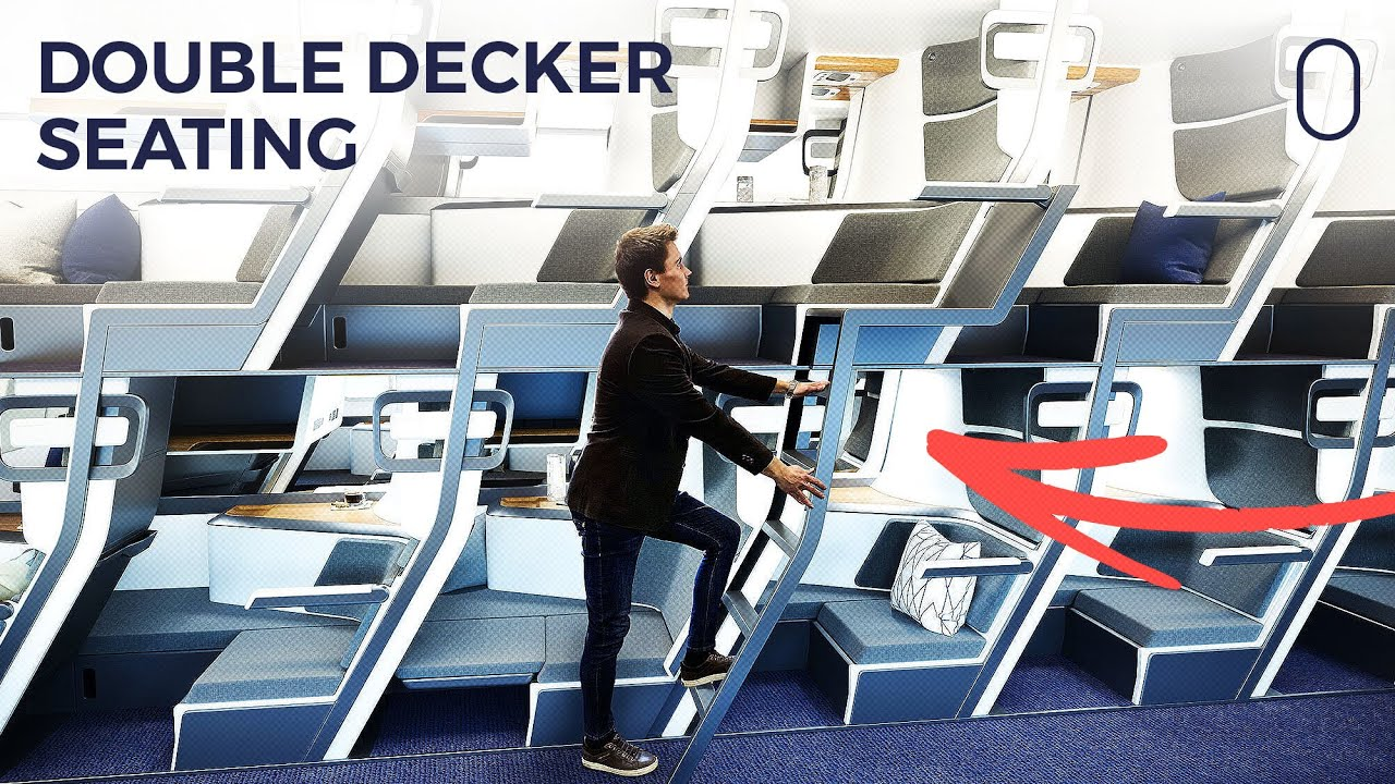 Double Decker Airplane Seat Achieves 700% Of Crowdfunding Goal