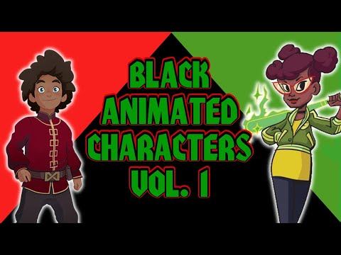 Current Black Animated Characters