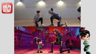 "Ralph Breaks the Internet | Shot Compare of ""Slaughter Race"" Musical"