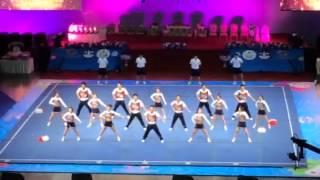 チアリーディング 2013  世界大会 男女混成