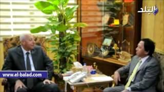 بالفيديو والصور .. محافظ أسوان يلتقى السفير اليابانى ويوجه دعوة لتجوله بالمدينة
