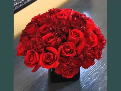 beautiful-&-lovely-flower-picture-selection-for-valentine-gift -carnation-&-rose-centerpieces-ideas