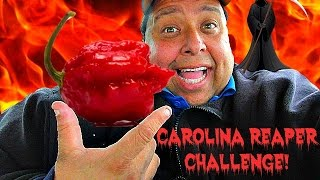 200,000 Subscriber CAROLINA REAPER CHALLENGE! *(Dry Heaving Alert!)*